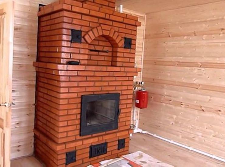 печь для отопления частного дома цена