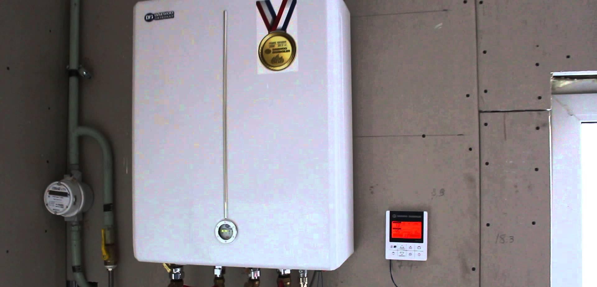 Инструкции на Газовые настенные котлы, daewoo серии, gasboiler