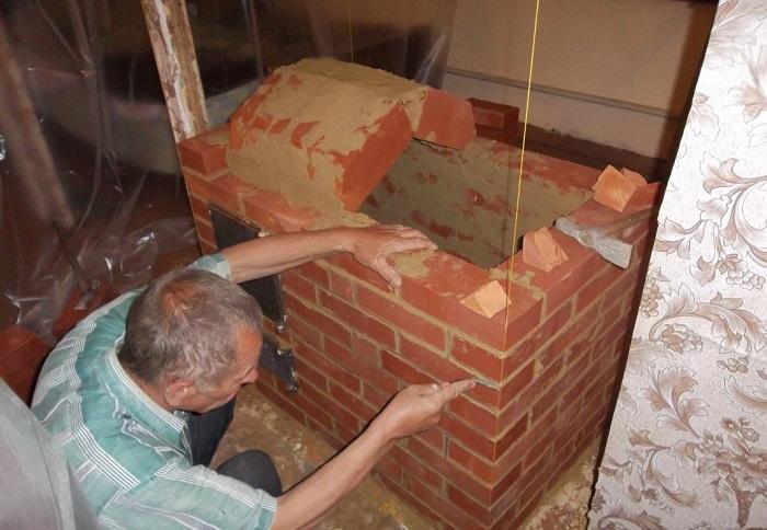 Мини-печь из кирпича своими руками в домашних условиях схемы установки и кладки