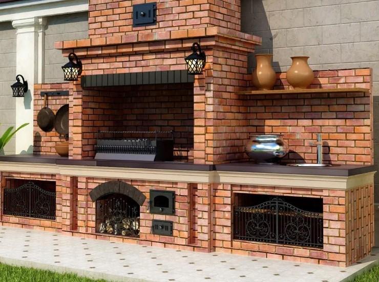 Чем лучше покрасить печь из кирпича в доме или на даче своими руками- пошаговая инструкция — gidkaminov