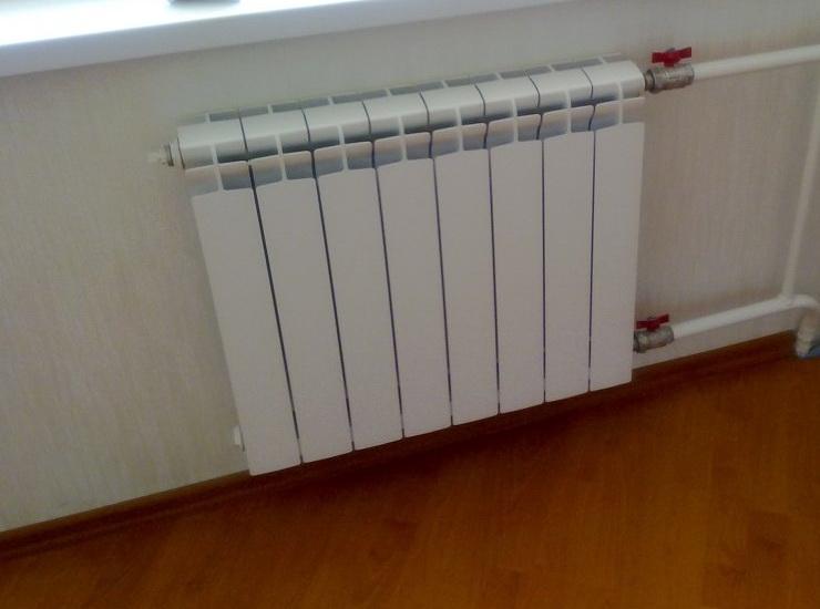 Установка новых батарей отопления в квартире