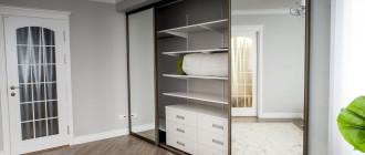 Шкафы-купе для любителей уюта и практичности