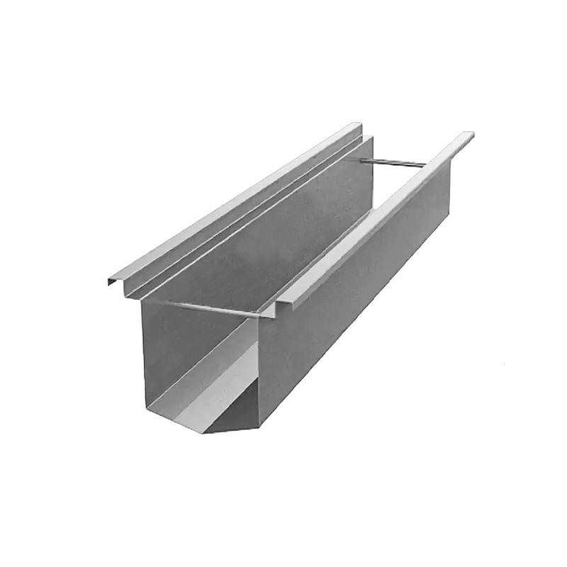 Водоотводные лотки прямоугольного сечения из нержавеющей стали