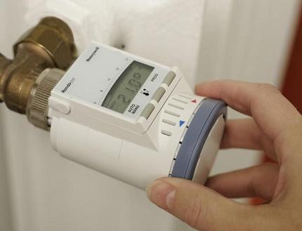 Регулировка тепла на радиаторе отопления шкала обозначения. Как без ошибок приобрести и использовать терморегулятор для радиатора отопления