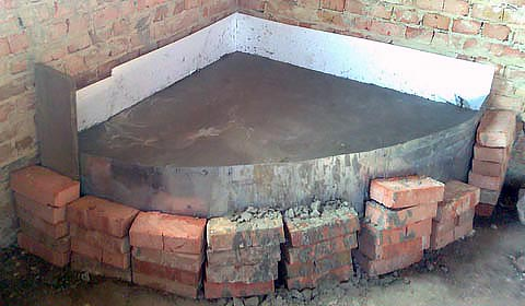 Как выложить камин своими руками - пошаговая инструкция