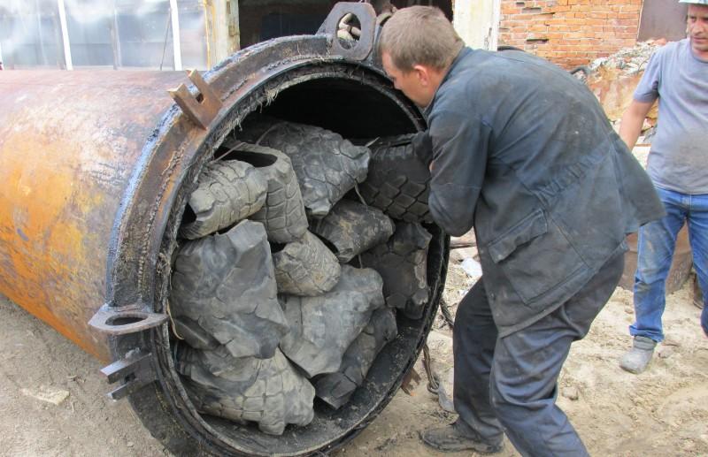 Переработка мусора пиролизом