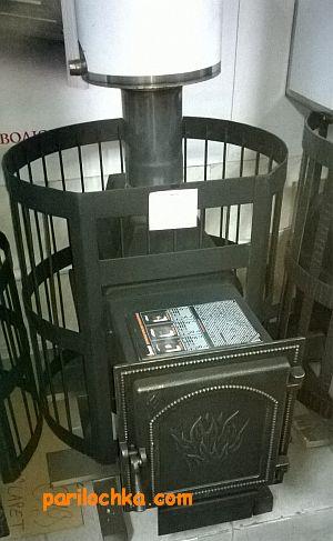 Теплообменник для печи из медной трубки