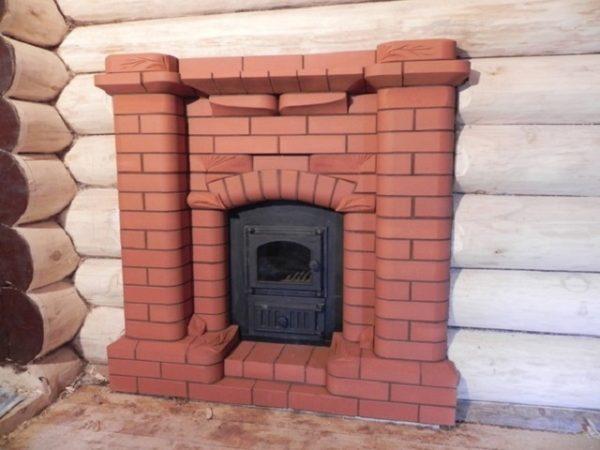 Шпаклевка для печей и каминов Емеля огнеупорная, термостойкая и жаростойкая шпаклевка